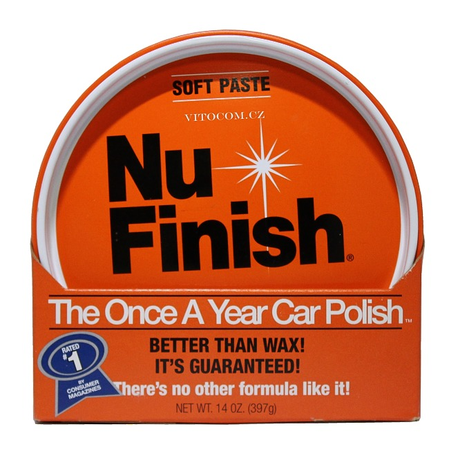 nu finish autovosk pasta